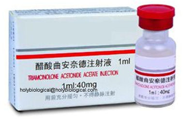 China Acetonina ad-renal do Triamcinolone da medicina da hormona para Neurodermatitis e eczema fornecedor